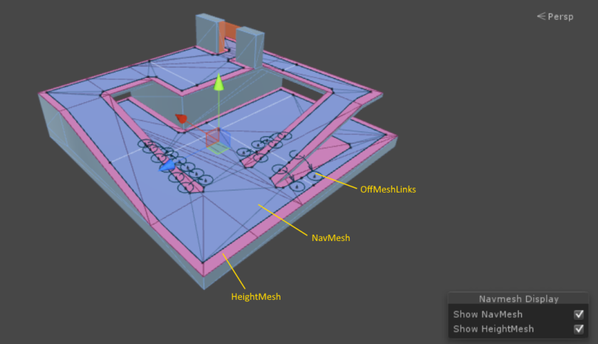 Baking a Navigation Mesh in Unity – Building Blocks