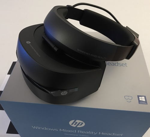 Getting Started with Immersive Mixed Reality Headset – Part 3: Development