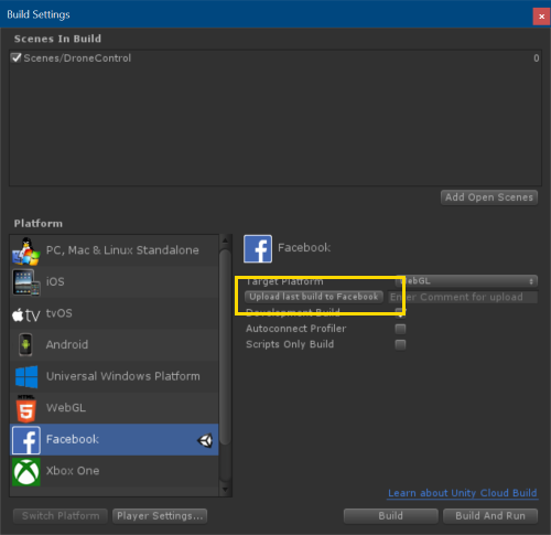 Web Hosting Quick Fix for Facebook Gameroom with Unity and