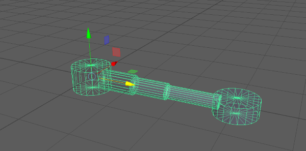 Creating a Telescoping Clamp in a Unity Scene – Building Blocks