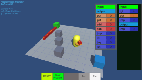 Ingame Programming In Unity Demo Building Blocks - Programming games